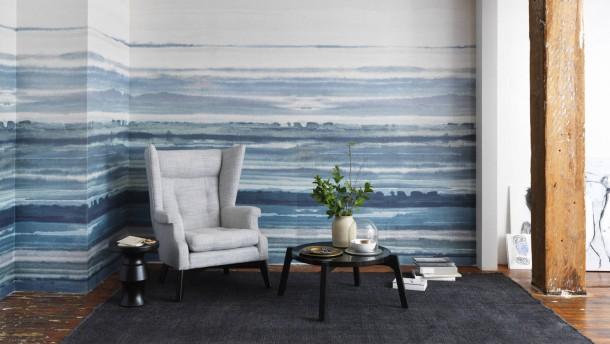 warum tapeten wieder im trend sind. Black Bedroom Furniture Sets. Home Design Ideas