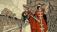 "Die Germania als Befreierin Polens? So sah es ""Der wahre Jacob"" 1915, noch vor der Proklamation."