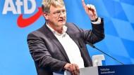 Umstrittener Politiker: AfD-Bundessprecher Jörg Meuthen soll an Podiumsdiskussion teilnehmen.