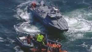 Greenpeace-Boote dringen in Sperrzone ein