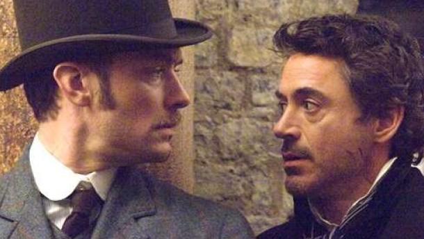"""Ein schönes Paar: """"Sherlock Holmes"""""""