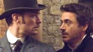 Ein schönes Paar: Sherlock Holmes