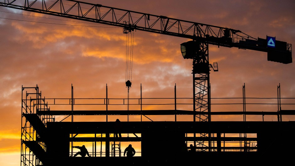 Stütze: Das Baugewerbe schlägt sich in der Coronakrise auch in Rhein-Main weiter gut