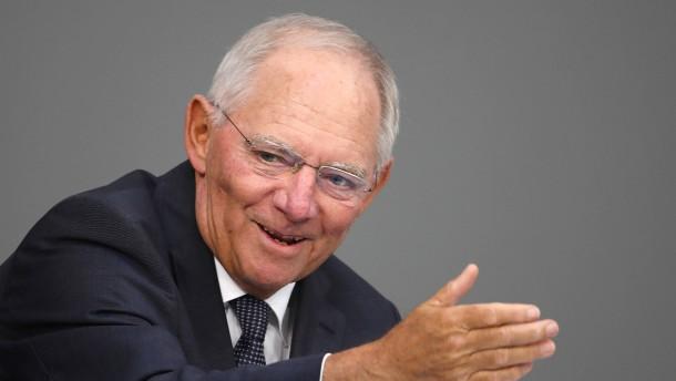 Schäuble will ESM als Haushaltswächter für Eurozone