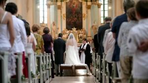 Eine Ehe kann ganz schön teuer sein