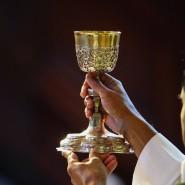 Eucharistie-Feier in Frankreich (Symbolbild)