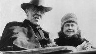 Woodrow Wilson (1856-1924), hier in einer Nachkriegsaufnahme. Der Präsident der USA lehnte die päpstliche Friedensnote als ledigliche Rückkehr zum Status quo ab.