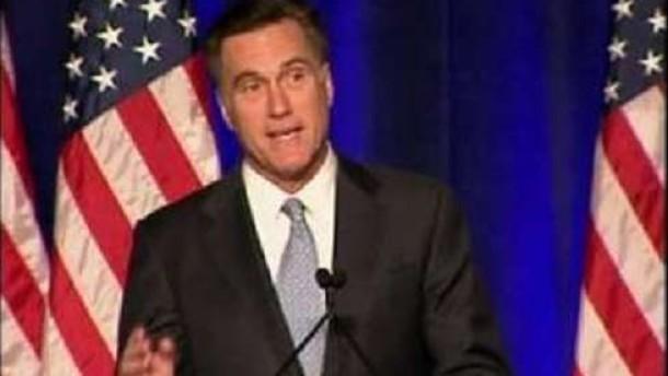Republikaner Romney gibt auf