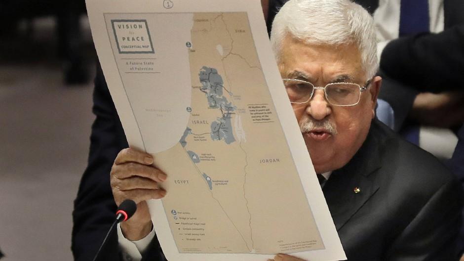 Abbas verreißt Trumps Nahost-Plan