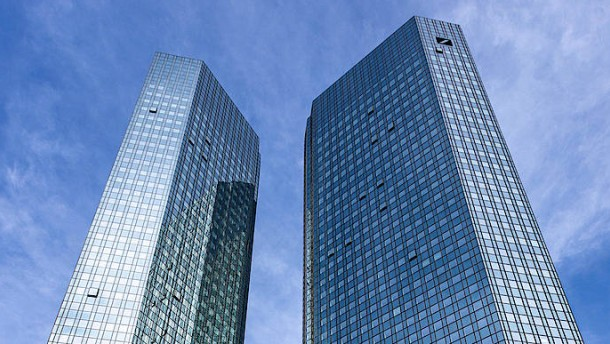 Schönheitsfehler bei der Deutschen Bank