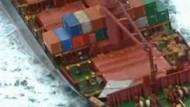 Explosive Container vor Australien