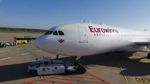 Eurowings und Verdi einigen sich auf Lohnerhöhung