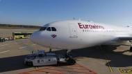 Eurowings und Verdi können sich auf einen Tarif für das Kabinenpersonal einigen.