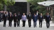 EU fordert stärkere Unterstützung der G7 bei der Flüchtlingskrise