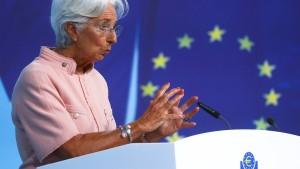 EZB bleibt bei ihrer lockeren Geldpolitik