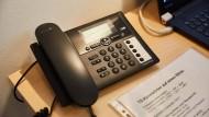 Telefonseelsorge: Kein Anruf ist wie der andere.