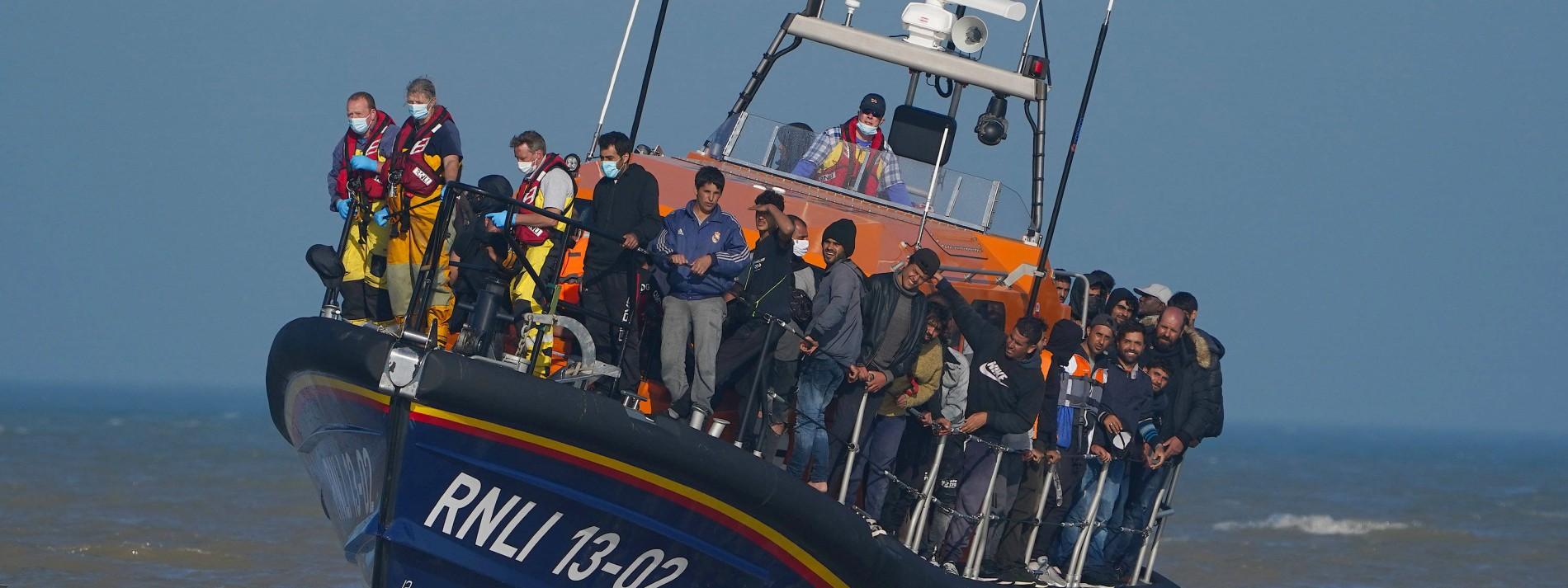 Briten und Franzosen streiten über Boote auf dem Ärmelkanal
