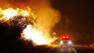 Keine Kontrolle über Waldbrände