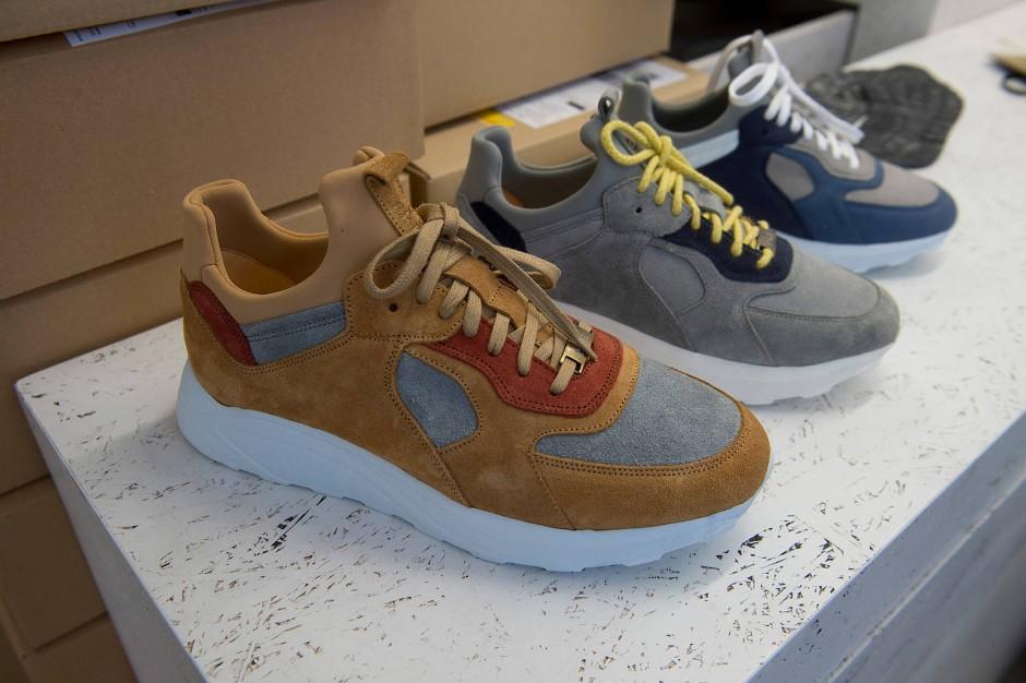 Kein Wegwerfprodukt: Sneaker von EKN setzen auf modische Nachhaltigkeit.