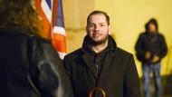 NPD-Politiker Stefan Jagsch war bei der Kommunalwahl Spitzenkandidat im hessischen Altenstadt.