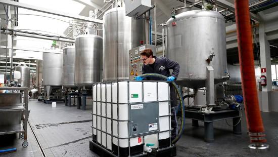 Belgische Destillerie stellt Produktion um