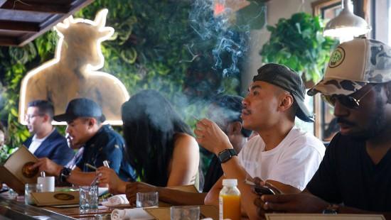 Erstes Cannabis-Café in Hollywood eröffnet