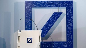 Deutsche Bank willigt in hohe Milliardenstrafe ein