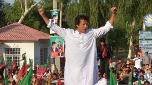 "Pakistans ""guter Populist"""