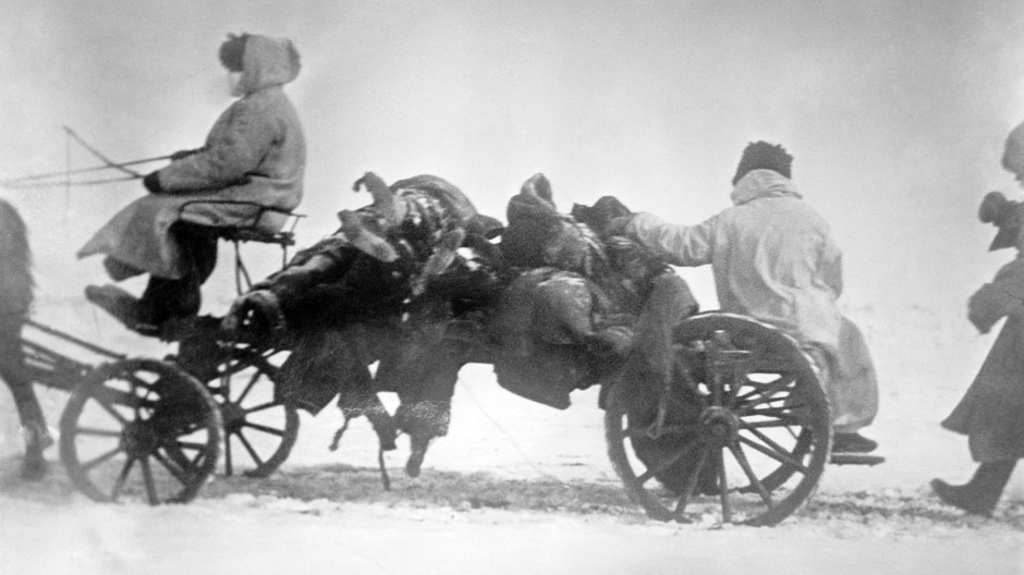 Chinesische Opfer der dritten Pestpandemie, die sich um 1900 in San Francisco ausbreitete und weltweit 12 Millionen Menschenleben forderte.