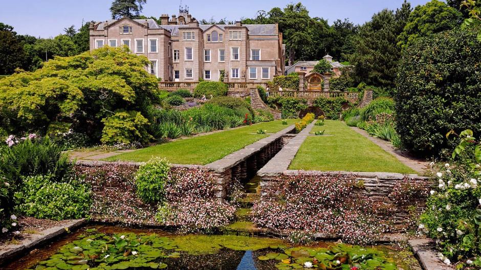 Den Einfluss der Gartenbaukunst sieht man auch in der Anlage von Hestercombe House in England.