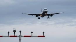 Bange Minuten im Flieger
