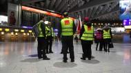 Leerer Terminal 1: Das Sicherheitspersonal am Frankfurter Flughafen streikt.