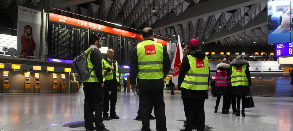 Streik flughafen
