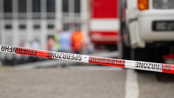 Vier Verletzte bei Brand von Einfamilienhaus