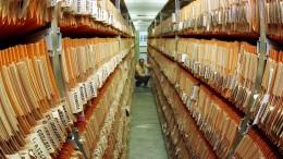 Schimmel bedroht Archive