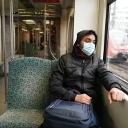 Viele leere Plätze: Mit dem öffentlichen Nahverkehr sind weniger Menschen unterwegs. Wie hoch das Risiko einer Ansteckung ist, soll nun gemessen werden.