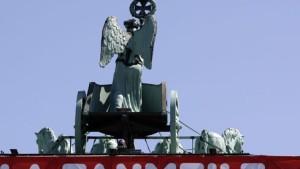 Fanmeile am Brandenburger Tor eröffnet