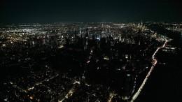 Manhattan im Dunkeln