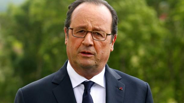 Obama und Hollande: engere Kooperation bei Terrorabwehr
