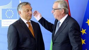 Wenn die EU-Fahnen entfernt werden