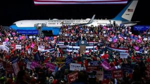 Demokraten kämpfen um jede Stimme