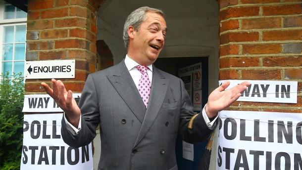 Die schwere Zeit nach Nigel Farage