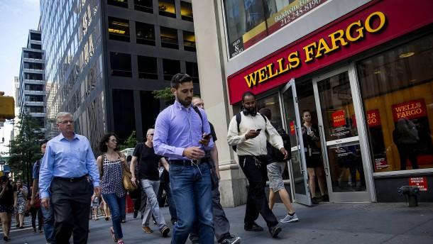 Scheinkonten erschüttern den Ruf von Wells Fargo