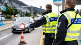 Kontrollen an Grenzübergängen begonnen