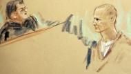 Attentäter zu Anhörung vor Gericht