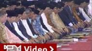 Muslime feiern das Ende des Ramadan