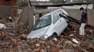 """Zyklon """"Yaas"""" hinterlässt große Schäden"""