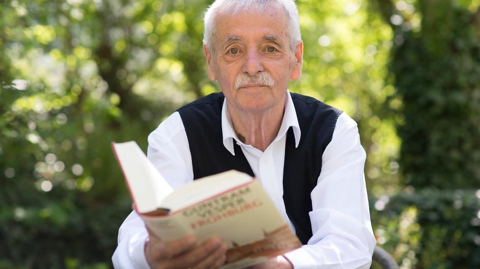 Der Schriftsteller Guntram Vesper im Jahr 2016