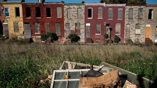 Elend und Hoffnungslosigkeit in Metropole Baltimore