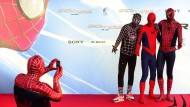 Berlin im Spiderman-Fieber
